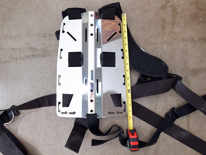 Deep Outdoors Matrix Freedom Backplate And Harness Size M
